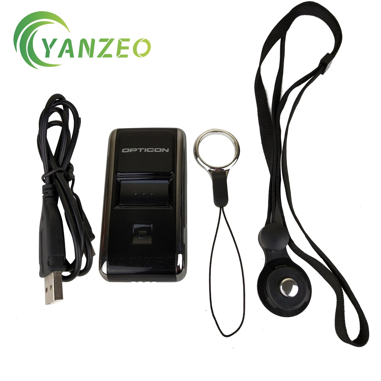 OPN-2002n For Opticon 2001 2006 1D Mini Portable Pocket Memory Laser Scanner Bluetooth Wireless Handheld Laser Barcode Scanner