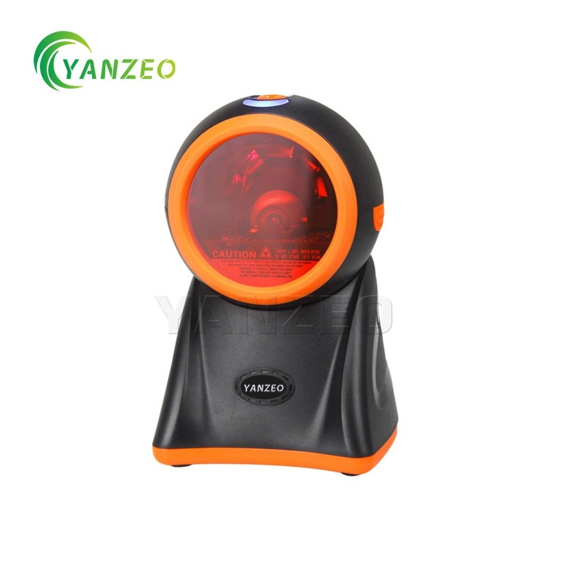 Omni-Directional Yanzeo YS818 High Speed Desktop 20 Lines USB 1D BarCode Scanner for Pos System Supermarket Warranty 12 Months