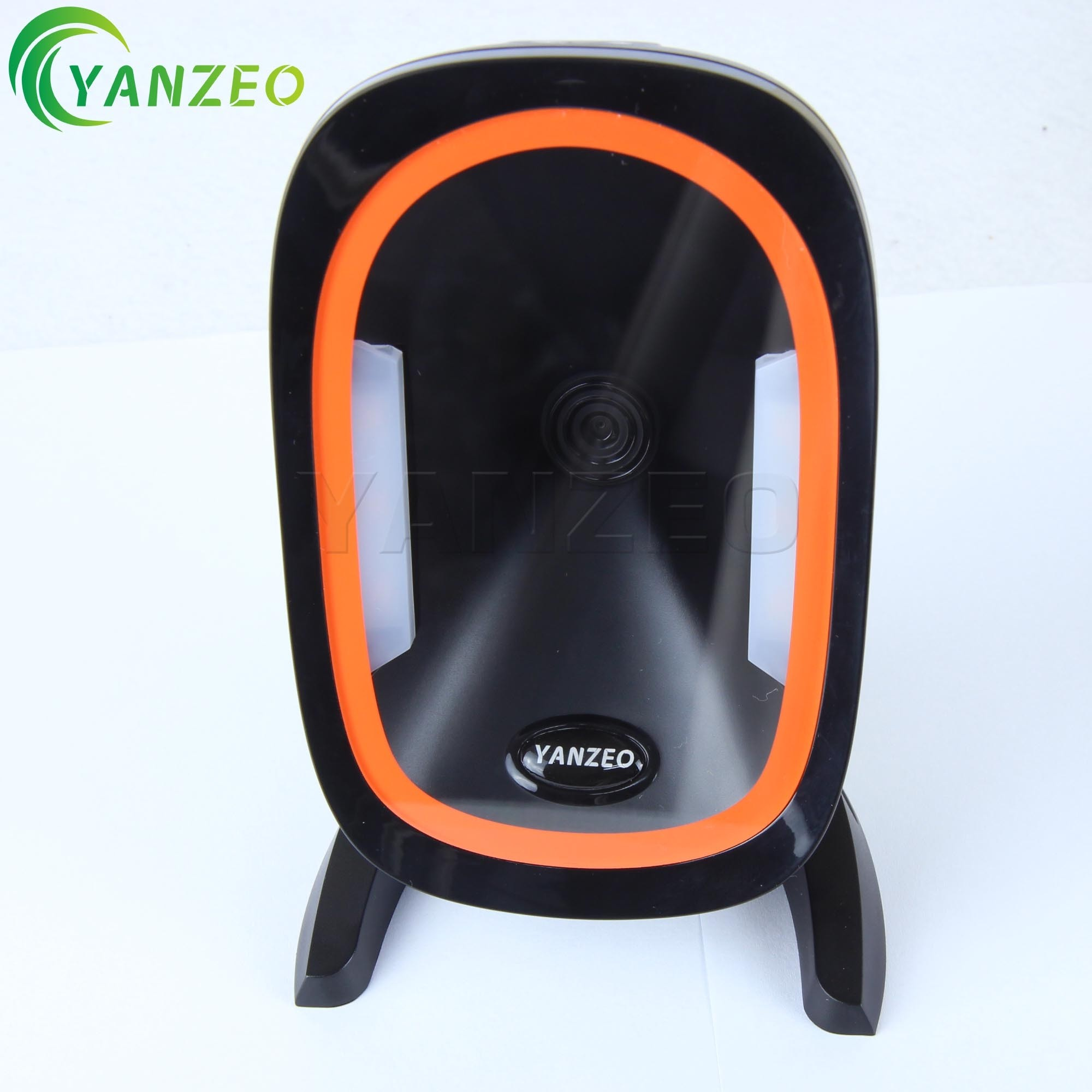 Yanzeo YZ888 Omni-Directional High perfermance Desktop USB 1D/2D BarCode Scanner for Pos System Supermarket Warranty 12 Months