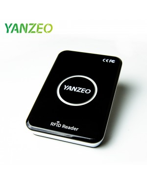 Yanzeo R15 UHF RFID Reader Writer Metal Shell  860-960mhz Complie Standard of EPC C1G2 ISO 18000-6C Support Keyboard Emulation Output Support Read Write UHF Tags Like Alien 9654