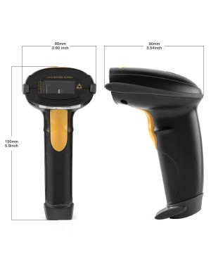 Yanzeo New L6810 Wired Handheld USB 1D Laser Barcode Scanner