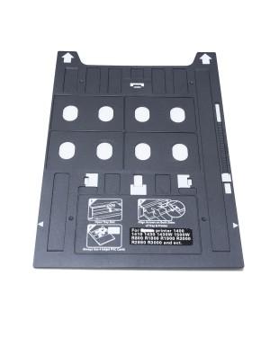 PVC Card Tray EPSON 1400 1410 1430 1430W 1500W R800 R1800 R1900 R2000 R3000 Stylus Photo R2880 R2400 SureColor P400 SureColor P600 EP-4004 A3 Inkjet PVC ID Card