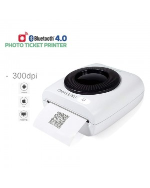 Mini Wireless Label Printer P2 58mm Pocket Bluetooth Printer Phone Wireless Connection HD 300 DPI Thermal Label Printer 1000mAh