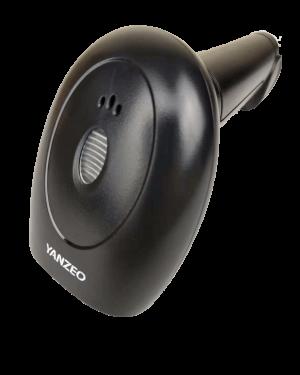 Yanzeo L1010 Wireless 2.4G Handheld  1D Laser Barcode Scanner USB 2.4G Laser Bar Code Reader For POS System Warranty 12 Months