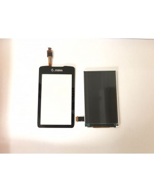 LCD Display Screen with Touch Digitizer with Front Cover for Zebra MC3300 MC33