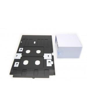 230PCS for EPS&Canon R200 R210 R220 R230 R300 R31 Inkjet PVC Card ID Card +1PCS Tray