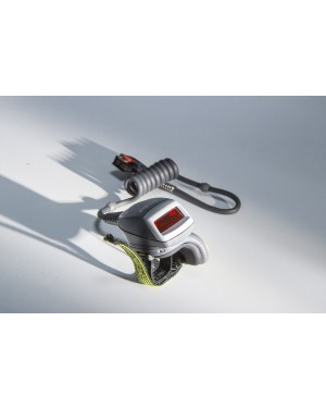 Zebra RS419 Ring Scanner Wearable RS419-HP2000FSR Series , 1D Laser, Cable to ARM Mounted Unit