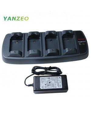 161378-0001 LXE MX8A385CHGR4 4 Bay Battery Multi Charger