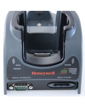 161377-0001 MX8A002DESKCRADLE Honeywell LXE MX8 Desk Cradle In Box Power Adapter