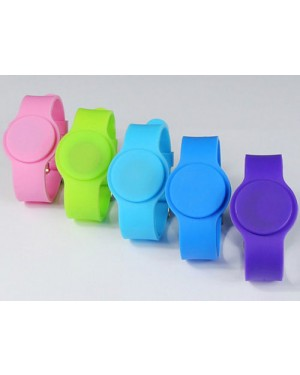 125Khz ISO7815 TK4100 Waterproof RFID Silicone Wristband Bracelet ID Chip