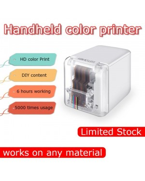 Portable Printpen Princube Handheld Inkjet Mini Printer WIFI USB For IOS Android Tattoo Logo Bar Code DIY Marker Color Printer