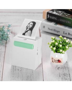 A8 Wireless Bluetooth Printer Power Bank Portable Photo Printer Mini Pocket Picture Printer Photo Memo Sticker Creative Gift