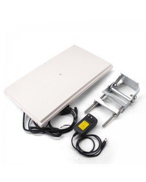 R786 UHF RFID Reader 12m Long Range RJ45 USB RS232/RS485/Wiegand Output Outdoor IP67 10dbi Antenna Integrated UHF Reader