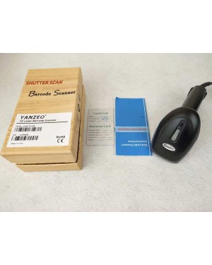 Yanzeo New 1PC L3100 Wired Handheld USB 1D Laser Barcode Scanner
