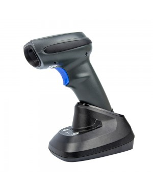 OCR Barcode Scanner| Yanzeo E9820i | 2D Rugged Wireless Brcode Reader Scanner Industrial 1D/2D Imager IP68 With Bluetooth, Cradle