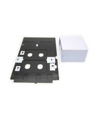 230PCS for EPS&Canon R200 R210 R220 R230 R300 R31 Inkjet PVC Card ID Card +1PCS Tray