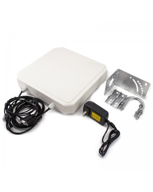R784 UHF RFID Reader 12m Long Range RJ45 USB RS232/RS485/Wiegand Output Outdoor IP67 9dbi Antenna Integrated UHF Reader