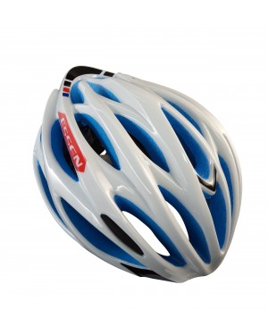 ESSEN S160V Sports Safety Bicycle 25 Holes Adult Men Helmet(White+Blue)