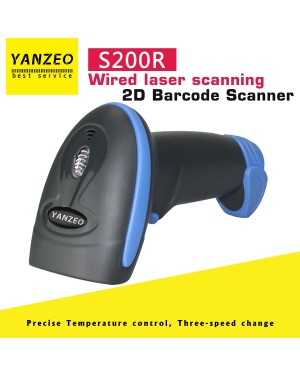 Yanzeo S200R 2D Barcode Scanner Wired 2.4G Handheld Reader Wireless For POS